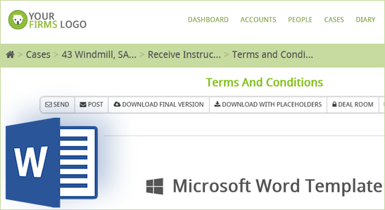 Hoowla Microsoft Word Integration